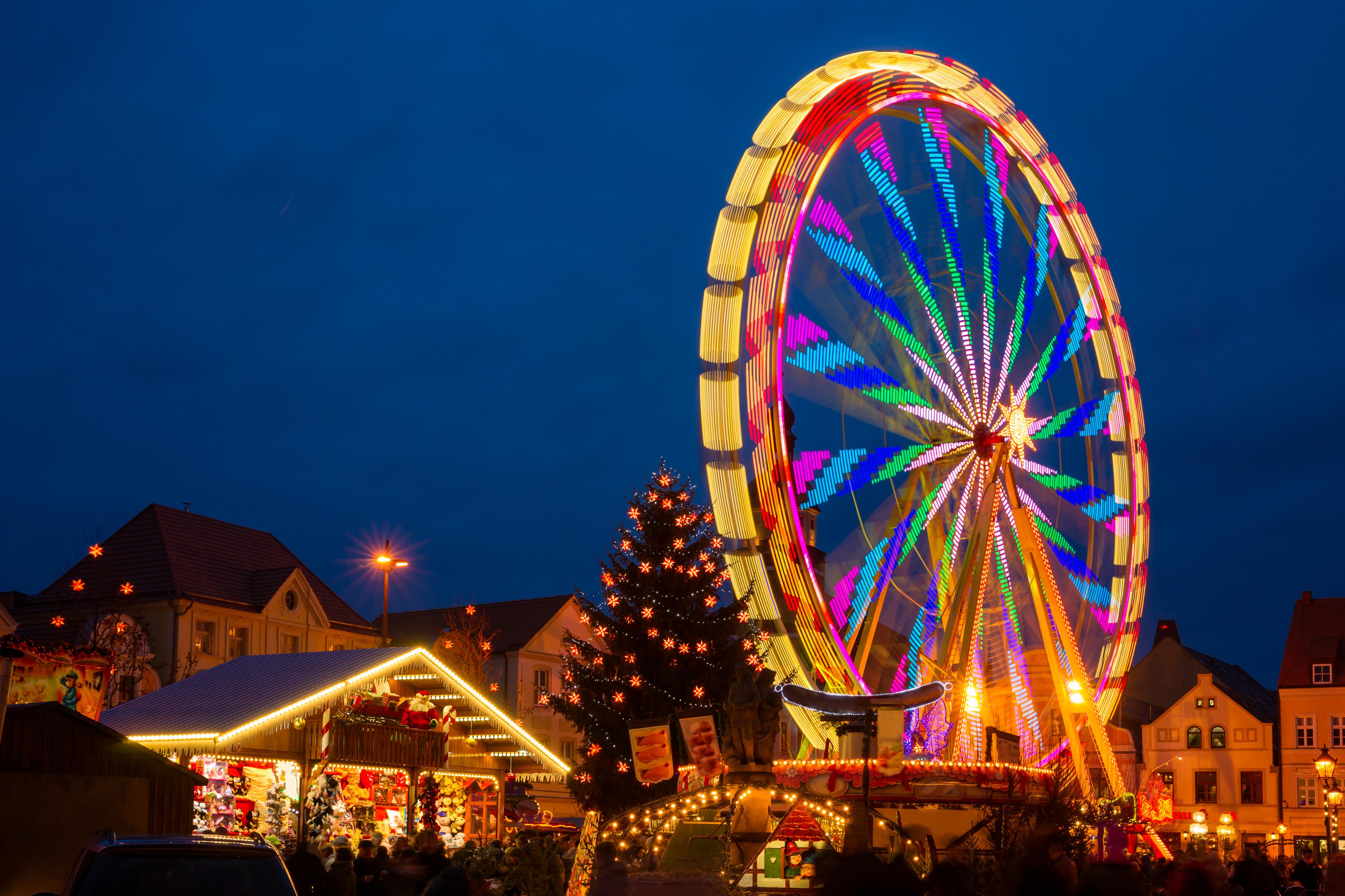 Julmarknad i Berlin med Wroclaw & Cottbus