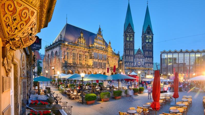 Höstweekend med vinfest i Bremen