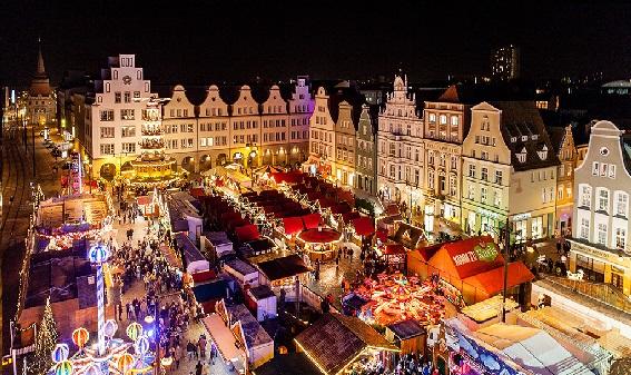 Julshopping i Rostock